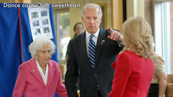 Are They Out of Your League? Joe Biden Prom Edition