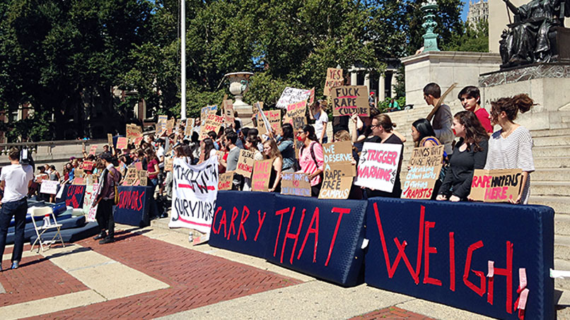 Campus Rape: Title IX, Your Rights, and the Girl Who Is Carrying Around a Mattress to Protest Schools' Handling of Assaults