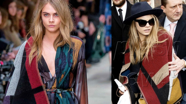 Burberry Made a Blanket with a Hole for Your Head-and It Only Costs $1,400!