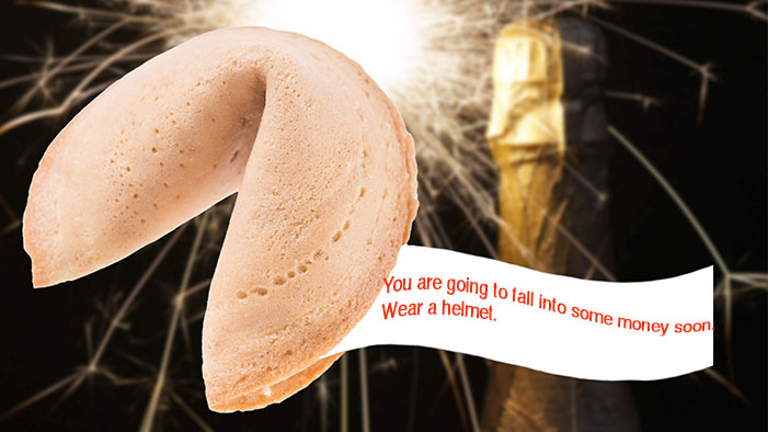 Fortune Cookies for the New Year!