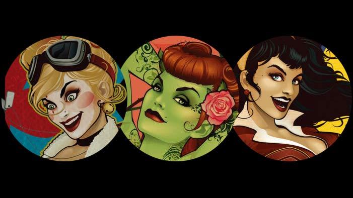 DC Presents Their Female Heroes as Vintage Bombshells