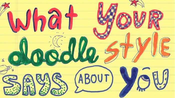what your doodles really say about you arrows for - 701×394