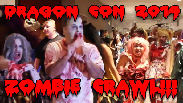 Epic Dragon Con Zombie Crawl Video!