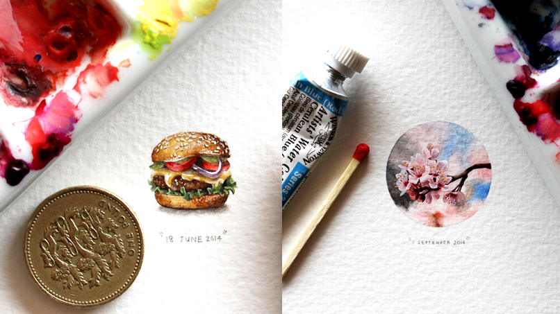 We're Totally Obsessed with Lorraine Loots' Unbelievably Tiny Paintings