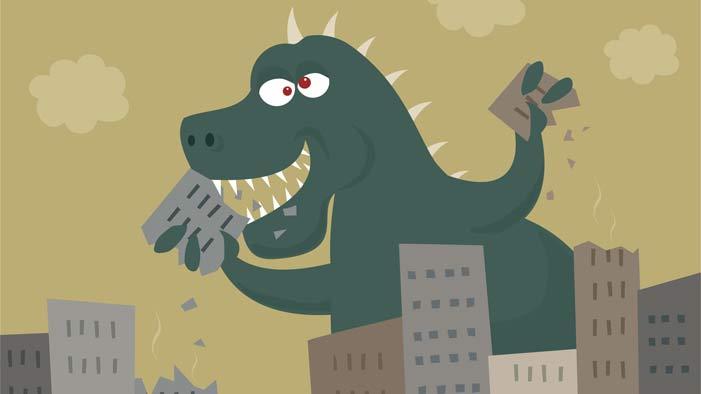 Attack of the Kaiju: Godzilla and His Peers