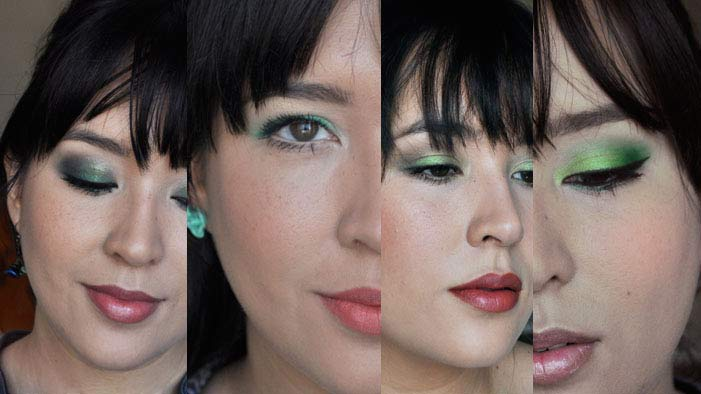 Spring Trend: Four Ways to Wear Green Eyeshadow
