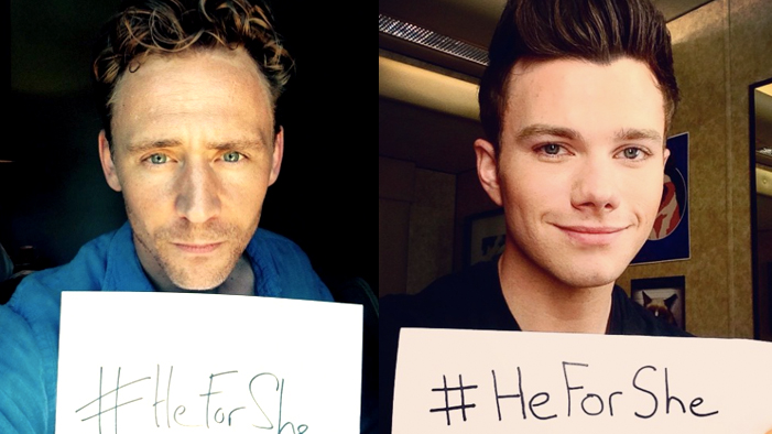 Check Out the Adorable Celebs Who Tweeted Their Support of Emma Watson's HeForShe Movement!