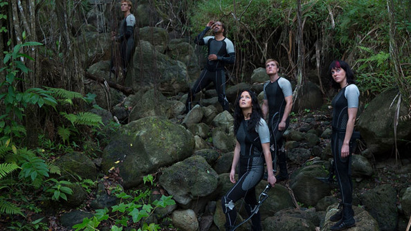 <i>The Hunger Games</i> Has Wrapped, LITERALLY (See the Pic), and We Have the MOTION POSTER for <i>Mockingjay: Part 1</i>!