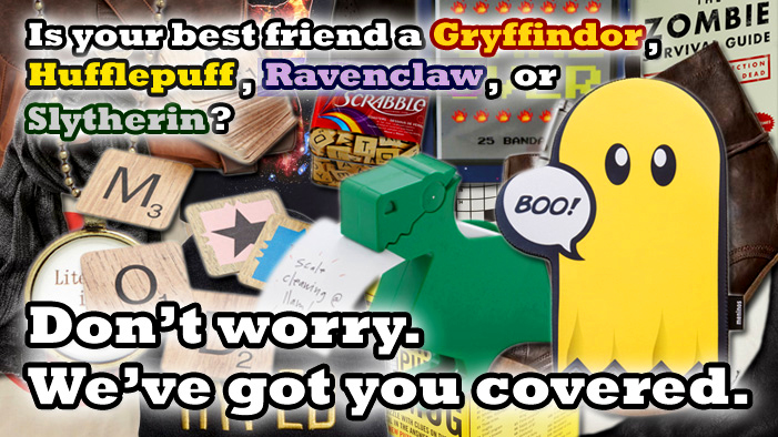 Awesome Gift Ideas for Your Bestie (Sorted By Their Hogwarts House, OBVIOUSLY)!