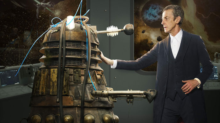 "Dalek Gone Good: Doctor Who Season 8, Episode 2 Recap of ""Into the Dalek"""