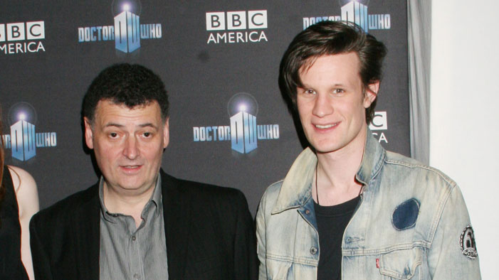 Is Steven Moffat Crowd-Sourcing Doctor Who Canon?
