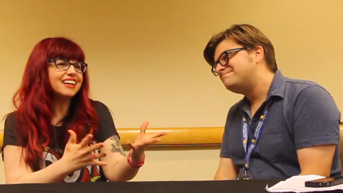 "Kelly Sue DeConnick Is ""Not Angry"" About Controversial Spider-Woman Cover in Our Video Interview"