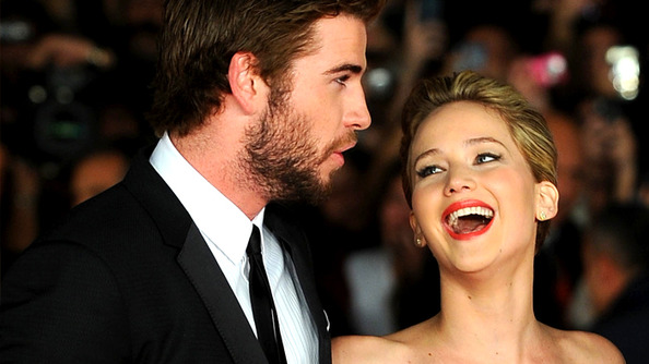Liam Hemsworth Says JLaw Made Their Kissing Scenes As Gross As Possible (Which Somehow Makes Us Love Her More)
