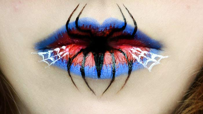 Lip Art Designs : Beautifully geeky lip art designs mindhut sparknotes