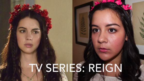 TV Show Makeovers: Lucero Shows You How to <i>Reign</i>!