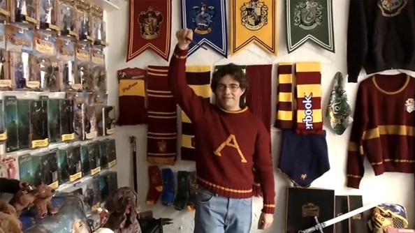 You've Officially Been Out-Geeked: Meet the World's Biggest <em>Harry Potter</em> Fan!