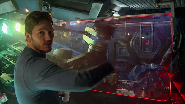 Let Chris Pratt Give You A Tour of The Guardians of the Galaxy Ship!