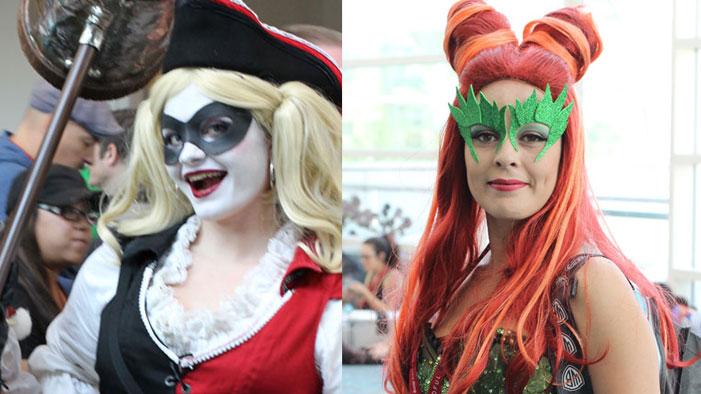 An Abundance of Poison Ivys and Harley Quinns