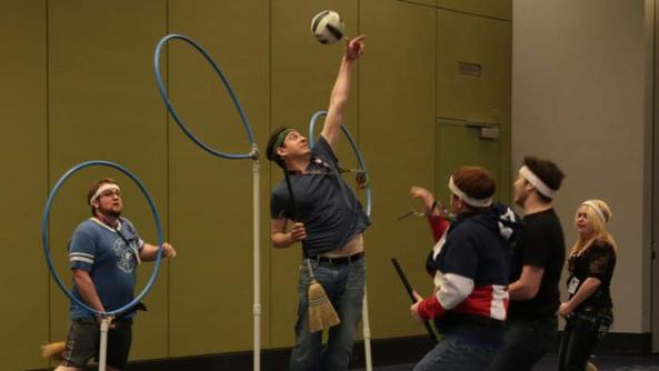 We Attended Quidditch 101 at C2E2