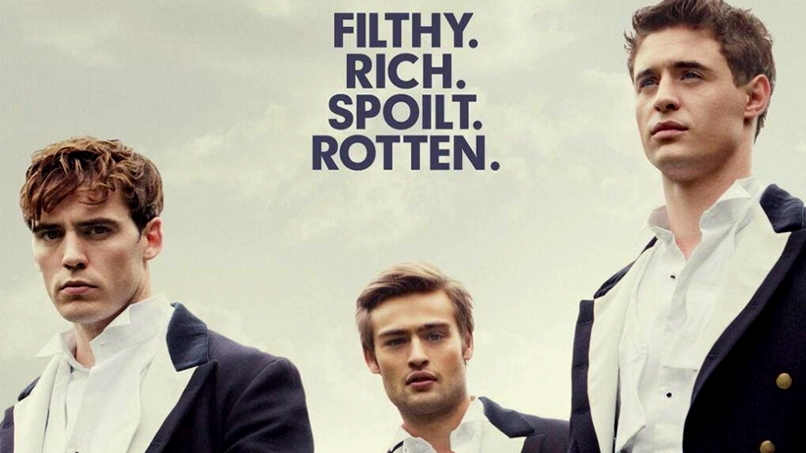 BEHOLD: Sam Claflin, Douglas Booth, & the Handsome Bad Boys of <em>The Riot Club</em>!