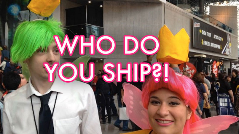 We Asked Comic Con Attendees Who Is the Shippiest OTP Of All!