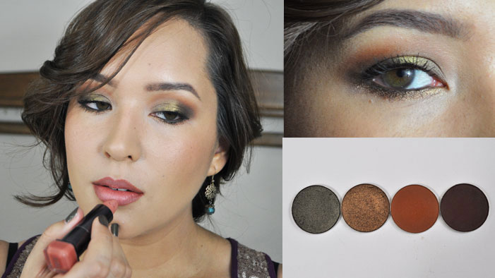 Fall Makeup: Autumnal Smoky Eyes