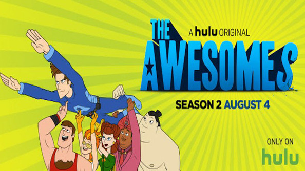 We Got to Watch a Sneak Peak of The Awesomes Season 2 on Hulu!