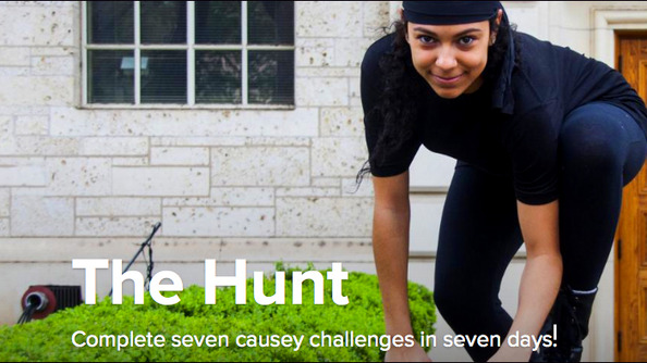 Want to Make the World Suck Less? NOW YOU CAN-with DoSomething.org's THE HUNT!