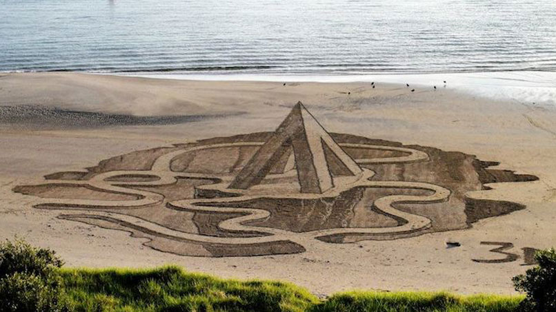 Check Out This Incredible 3D Sand Art By 3DSD!!!