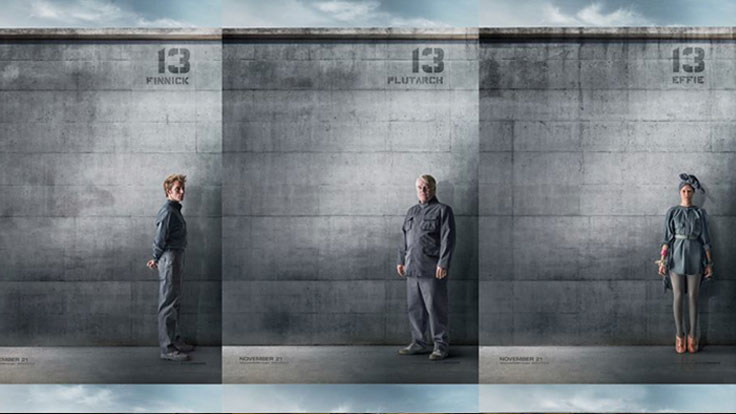 The <i>Mockingjay</i> Propaganda Wars Continue With Concrete-Chic Portraits of District 13 Heroes