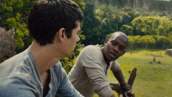 NEW <i>MAZERUNNER CLIP</i> SHOWS ALBY + WORLD'S COOLEST TREEHOUSE