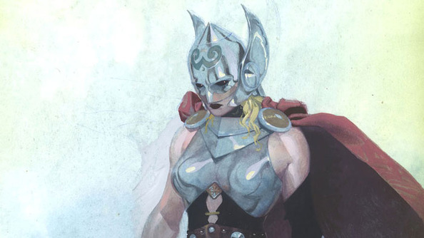 Meet Your New Female Thor!