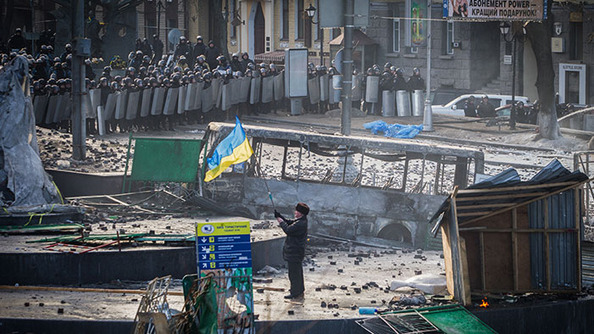 Why the Streets Are On Fire in Ukraine