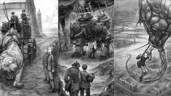 GEN CON EXCLUSIVE: Scott Westerfeld Talks About the Illustrations in Leviathan