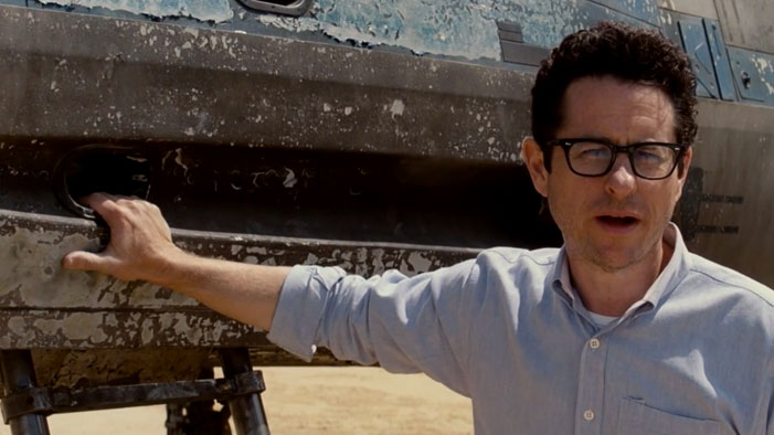 J.J. Abrams Reveals the Star Wars X-Wing!