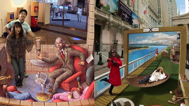 This 3D Sidewalk Art Will Make You Doubt Reality