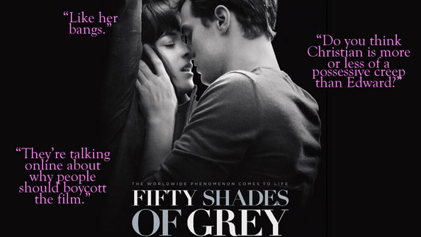 What's the Big Deal About Fifty Shades of Grey? Janet & Em Saw the Movie and Discuss...