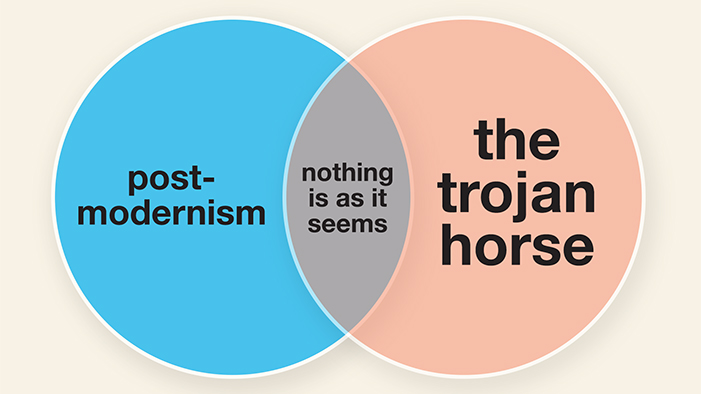 Greek Myths and Literary Periods Summed Up in Venn Diagrams