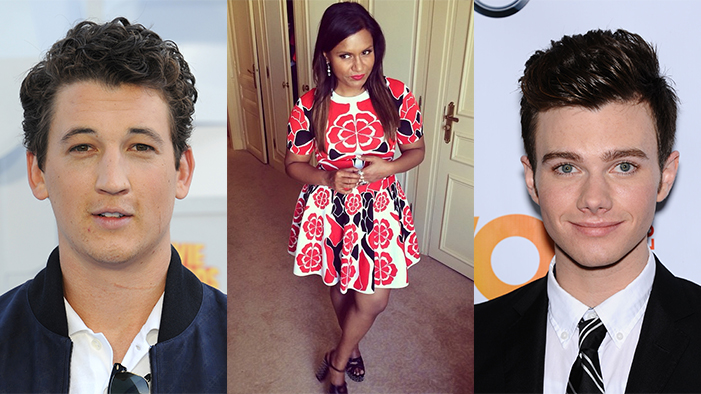 This Week's Celeb Twitter Roundup: Miles Teller Makes a Joke, Mindy Kaling Stays Fabulous