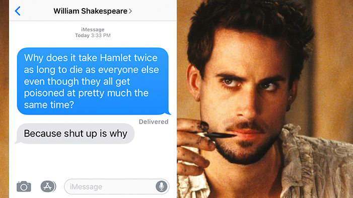 If Shakespeare Could Text