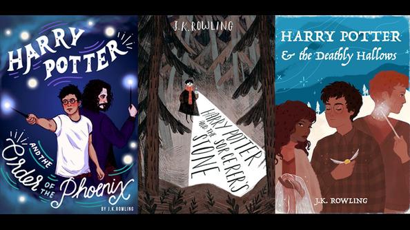 7 <em>Harry Potter</em> Covers Reimagined by Our Favorite Illustrators
