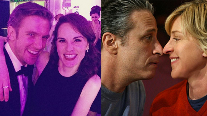 Jon Stewart's #JonVoyage & a Downton Abbey Reunion in This Week's Twitter Roundup