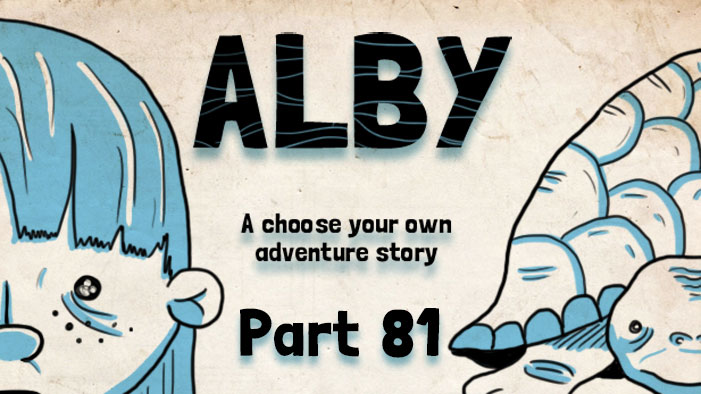 ALBY, a Choose Your Own Adventure Story: The Scholar's Journal