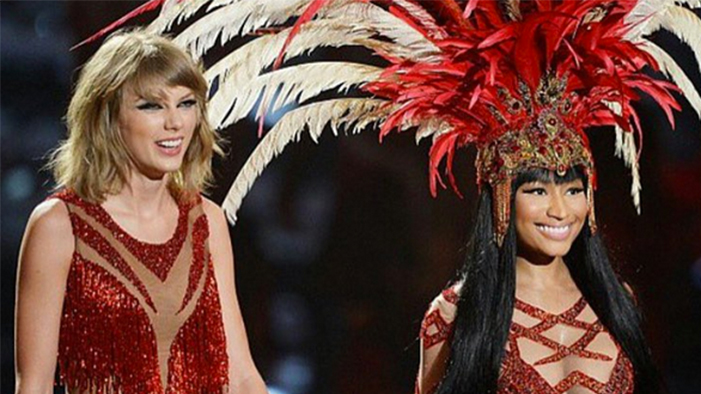 ICYMI: #VMAs Roundup, Justin Bieber Tears, & an EPIC Nicki Minaj + Taylor Swift Make-Up