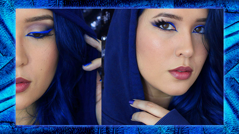 Comic Con Is Almost Here... Get Ready With This To-DYE-For Raven Cosplay Makeup!