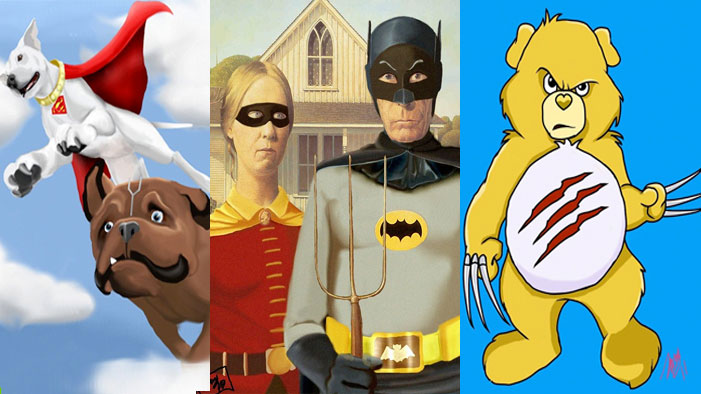 Amy Cannon Turns Super Heroes into Super Hilarity