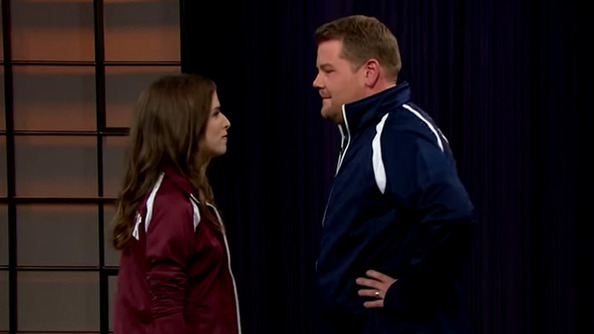 Anna Kendrick Vs. James Corden in a <i>Pitch Perfect</i> Riff-Off: WHO WILL WIN?
