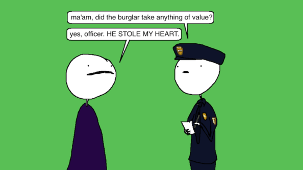 Auntie SparkNotes: A Burglar Ruined My Relationship