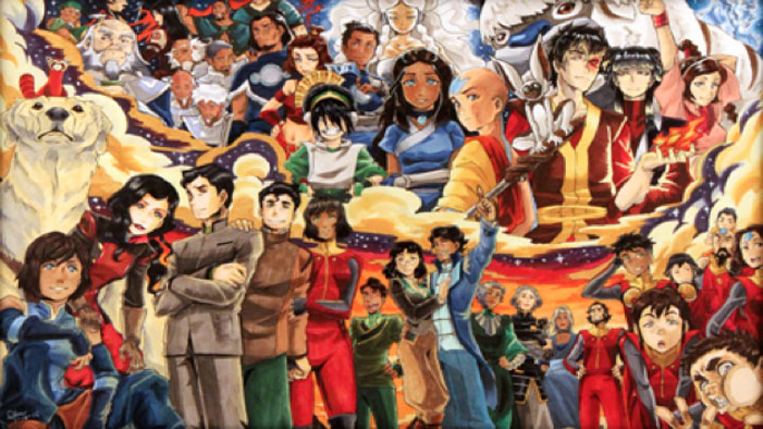 Celebrate the legend of korra and avatar the last airbender with celebrate the legend of korra and avatar the last airbender with this tribute art exhibition voltagebd Image collections