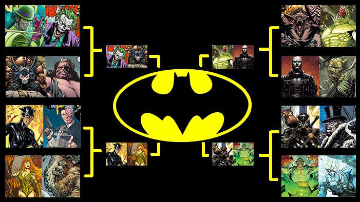 Place Your Bets: It's the Batman Villain Bracket Brawl for Get Pop Cultured's DC Comics Days!